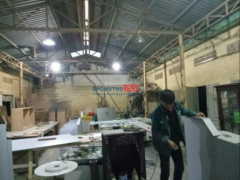 Cho thuê or Sang 270m2 Xưởng sản xuất nội thất tại Xã Bà Điểm, Hóc Môn. Lh Mr Phi