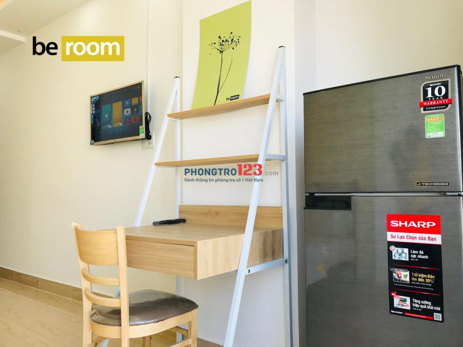 Cho thuê phòng full nội thất mặt đường Nguyễn Văn Đậu có thang máy