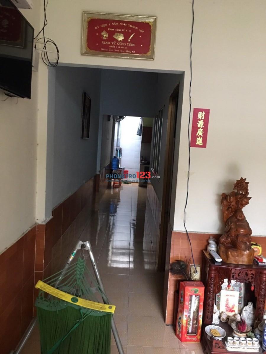 Cho thuê phòng trên lầu 1