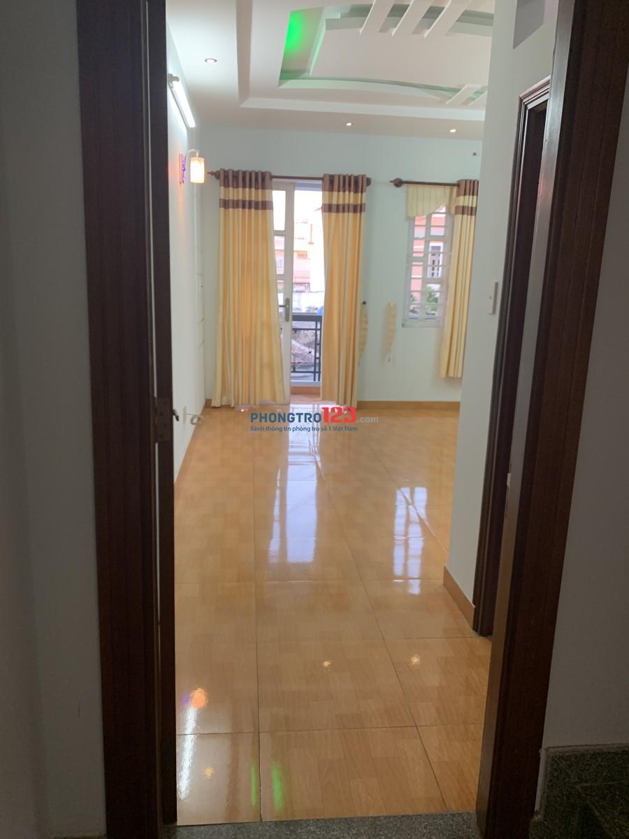 Nhà trống 2 phòng lầu 2 nhà nguyên căn cần cho thuê