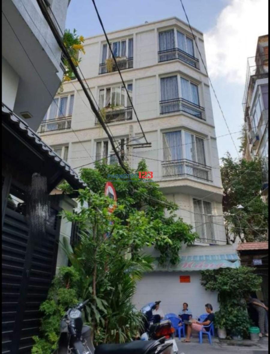 Cho thuê mặt bằng tầng trệt 35m2 hẻm xe hơi tại 16/95A Nguyễn Thiệt Thuật, Q.3, giá 8tr/tháng