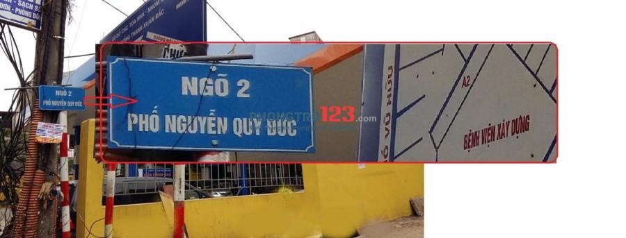 Cho Thuê Nhà Số 10 Ở Ngõ 02 Nguyễn Quý Đức- Thanh Xuân- Hà Nội