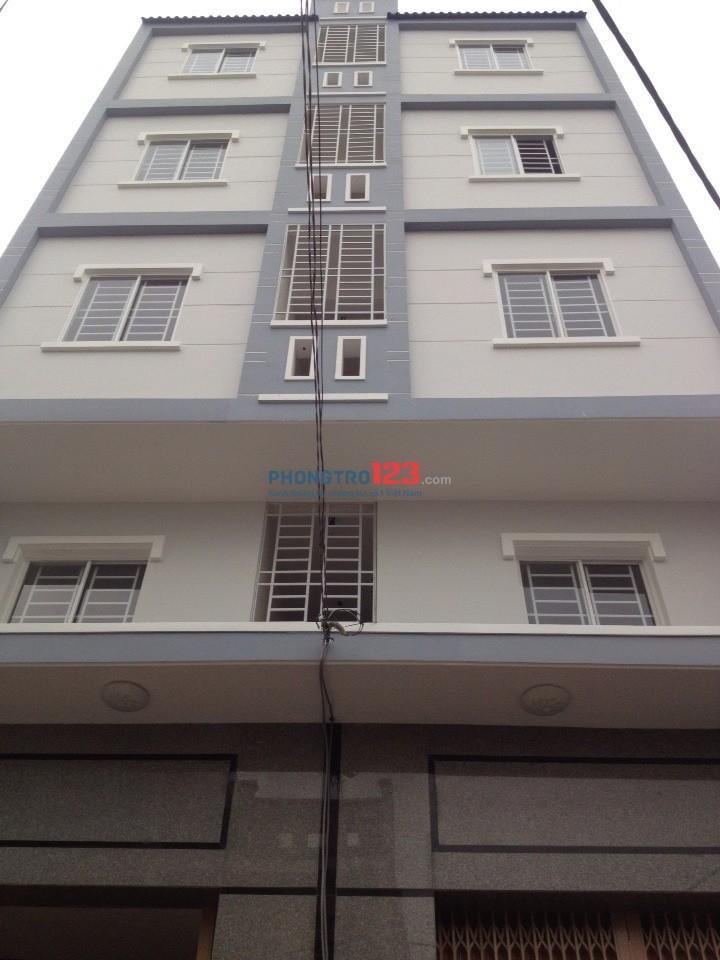 Cho thuê phòng trọ dạng chung cư mini máy lạnh Q.8 gần Đại lộ Đông Tây, Q.5, Q.6
