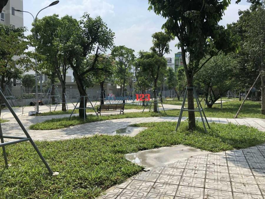 Phòng Máy lạnh,Ban công,BV 24/24,Giờ TD,Giá 4,1tr tại KDC Trung Sơn,Gần Cầu Nguyễn Văn Cừ,Lotte Q.7