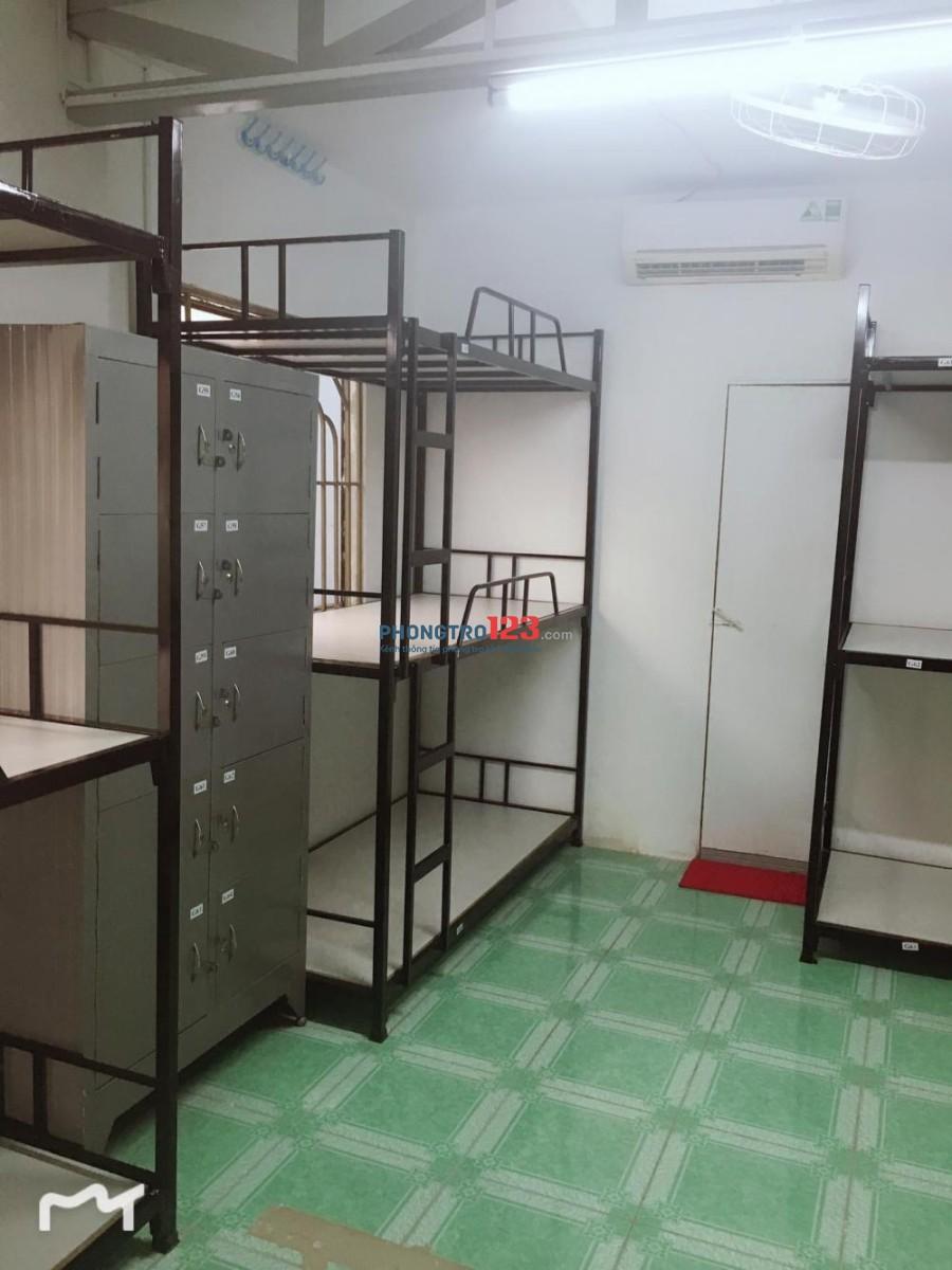 KTX máy lạnh thoáng mát, sạch sẽ, đảm bảo an ninh , ...giá chỉ từ 700k/tháng