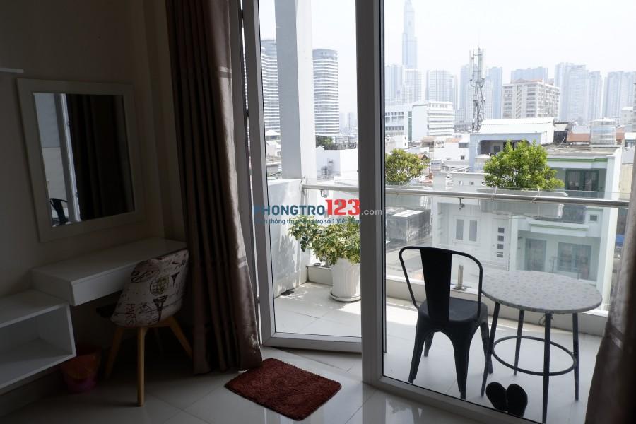 Cho thuê căn hộ full nội thất cực đẹp ngay trung tâm Q.Bình Thạnh. Giá 10tr/tháng, LH Ms An