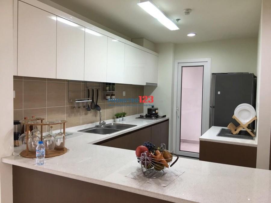Cho thuê căn hộ CBD Quận 2, 63m2, 2PN, giá thuê 7.5tr/tháng