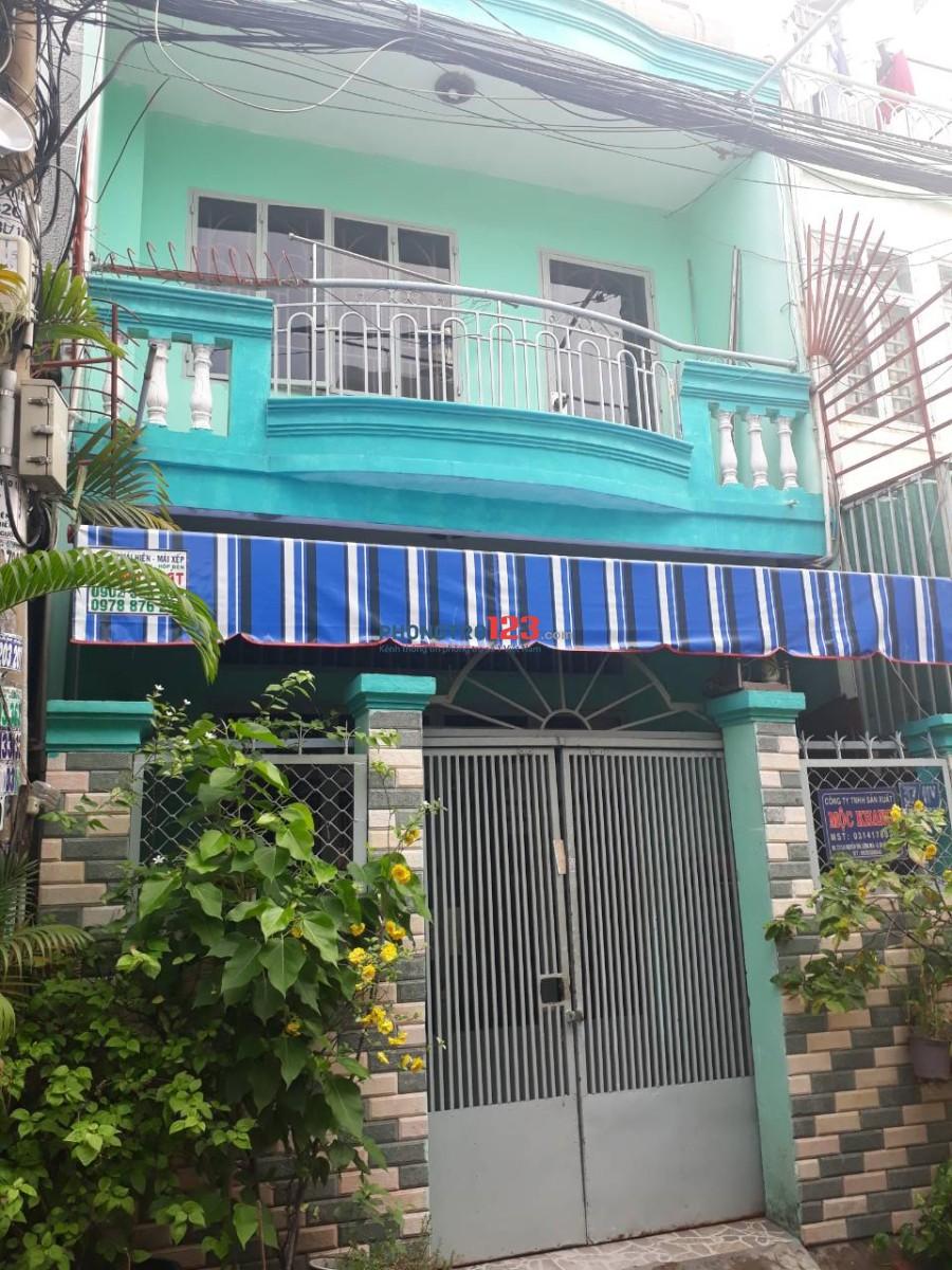 Cho thuê nhà nguyên căn, diện tich 96m2, hẻm xe hơi, đối diện Lotte Gò Vấp