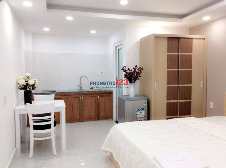 Phòng mới xây hiện đại ở đường D5, Q.Bình Thạnh
