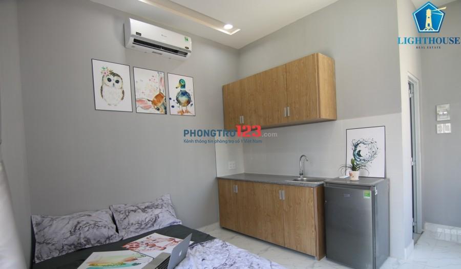 Căn hộ chung cư mini thang máy bảo vệ 24/24 Gần ĐH Hutech - Ngoại Thương