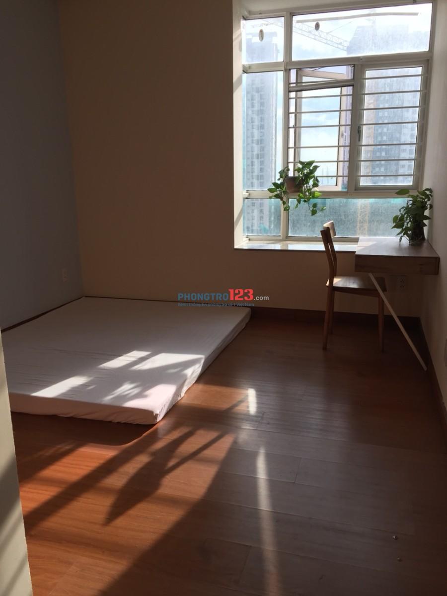 Tháng 6 cho thuê phòng đẹp đầy đủ nội thất CC Hoàng Anh Gold House 3tr/tháng