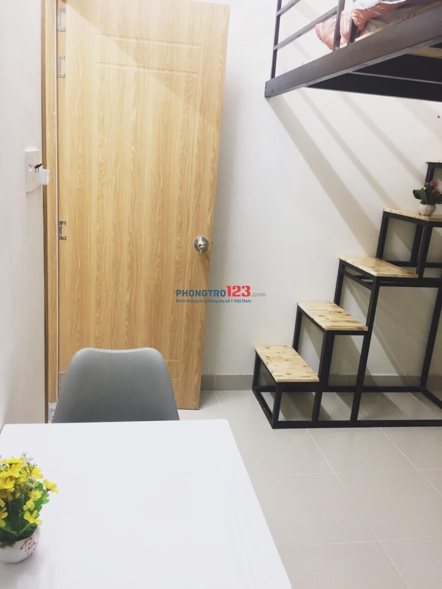 Phòng cao cấp mới xây thoáng mát hiện đại ở XVNT, Bình Thạnh