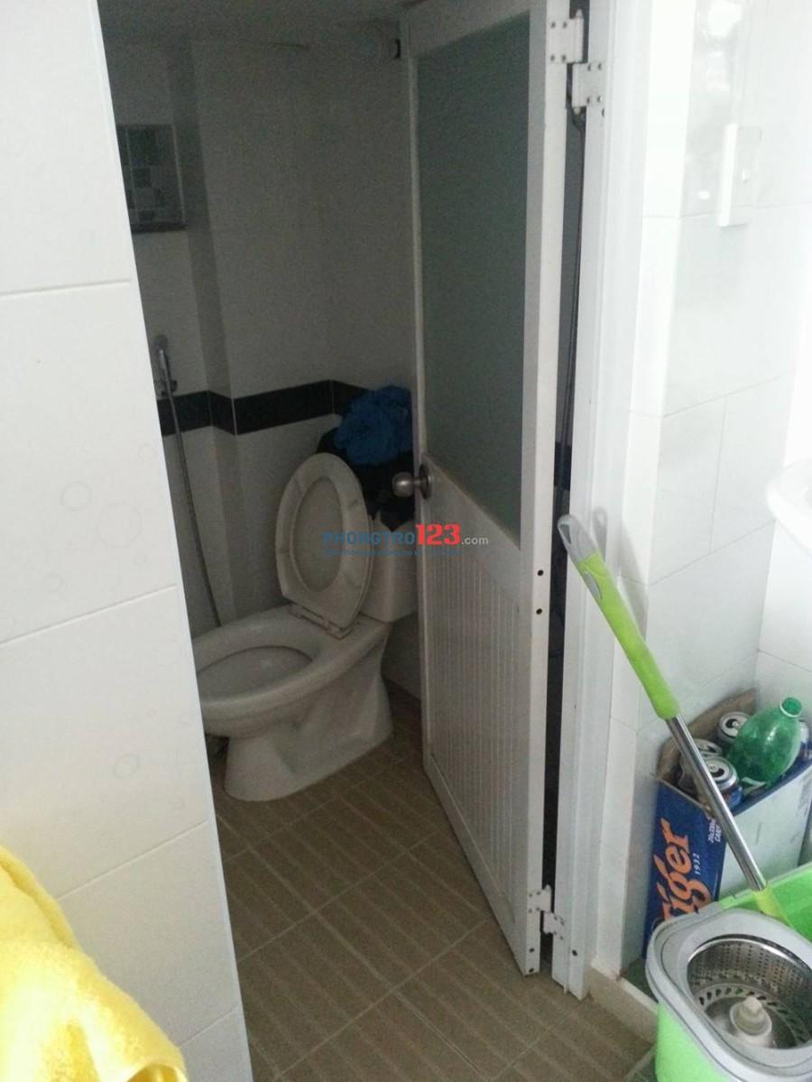 Phòng mới cần cho thuê, khu yên tĩnh, điện nước nhà nước