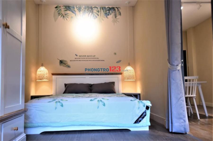 Cho thuê căn hộ dịch vụ cao cấp đường Chu Văn An, quận Bình Thạnh