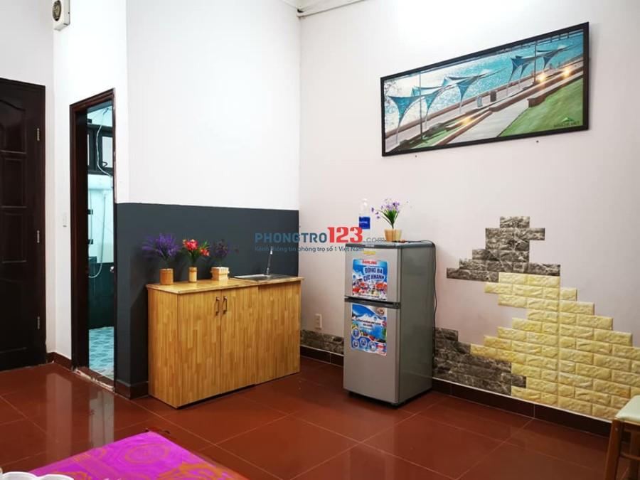 Cho thuê căn hộ mini studio cao cấp, full nội thất gần siêu thị Emart