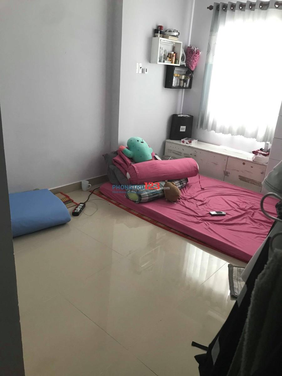 Tìm 1 nữ ở ghép phòng gần ngã 4 Phú Nhuận