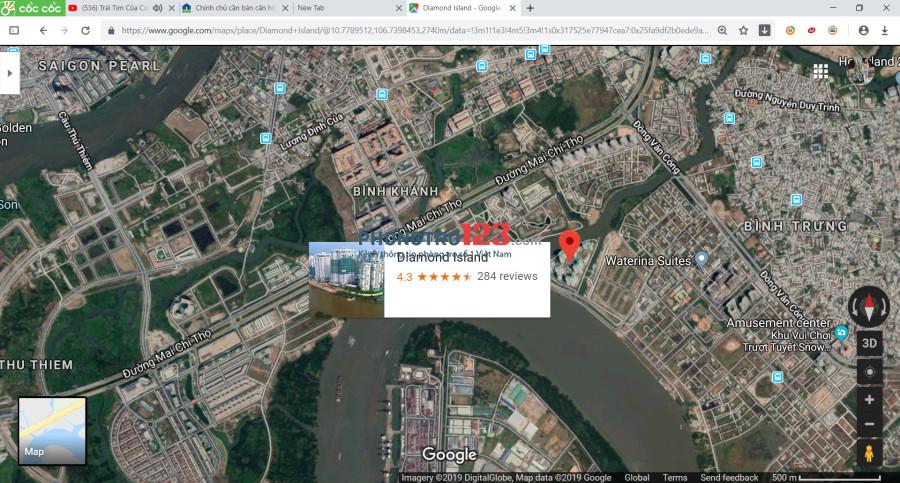 Căn hộ đẳng cấp tại Đảo Kim Cương 1PN - 15tr/tháng 0918 727 446 ms.Nhi