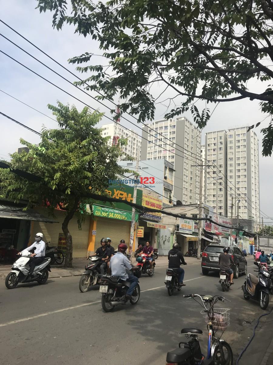 Cho thuê nhà mặt tiền 2 căn đôi đường Tân Hòa Đông, P.11, Q.6. LH: Ms Phượng 0909707379