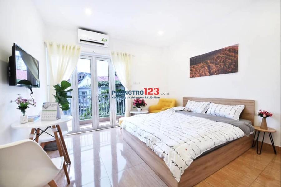 Phòng mới 100% rẻ và đẹp 30m2, đường D2 gần công viên Tầm Vu. LH: 0917628776