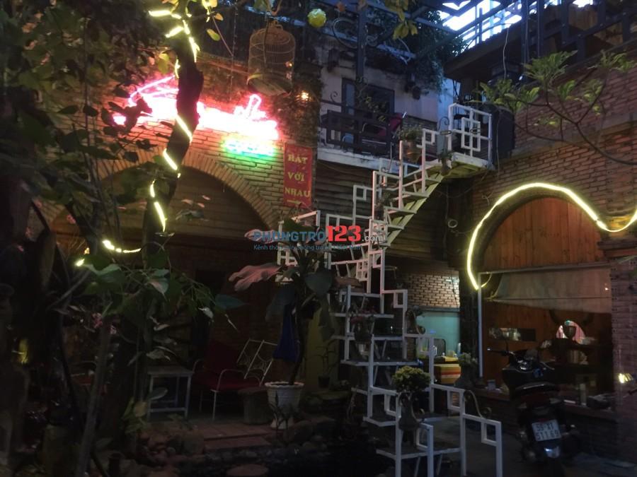 Cho thuê kinh doanh quán cafe sân vườn, sang quán cafe sân vườn