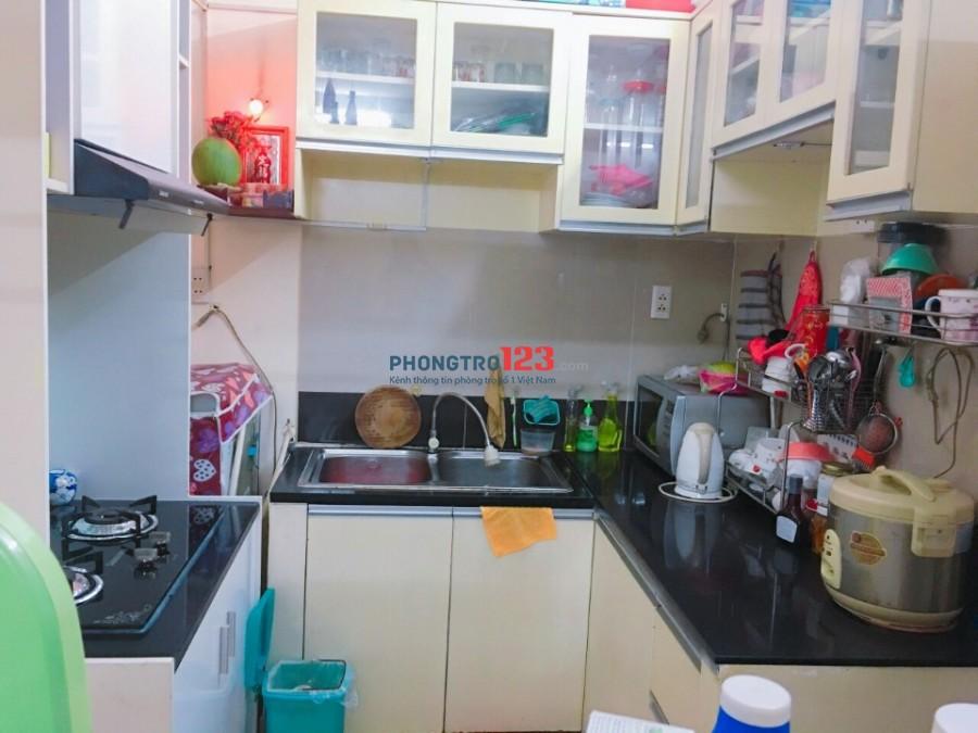 Cần cho thuê căn hộ 2PN - Chung cư Mỹ Đức - Bình Thạnh
