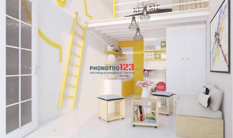Cmc building cho thuê phòng trọ mới xây Tân Bình