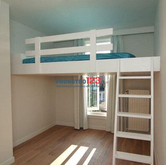 Cao ốc mới xây cho thuê trọ quận Tân Bình, full nội thất