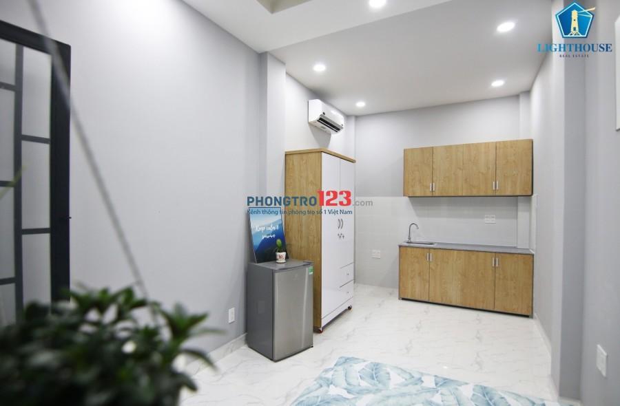 Cho thuê căn hộ mini, full nội thất, mới xây giá chỉ từ 5 triệu quận Bình Thạnh