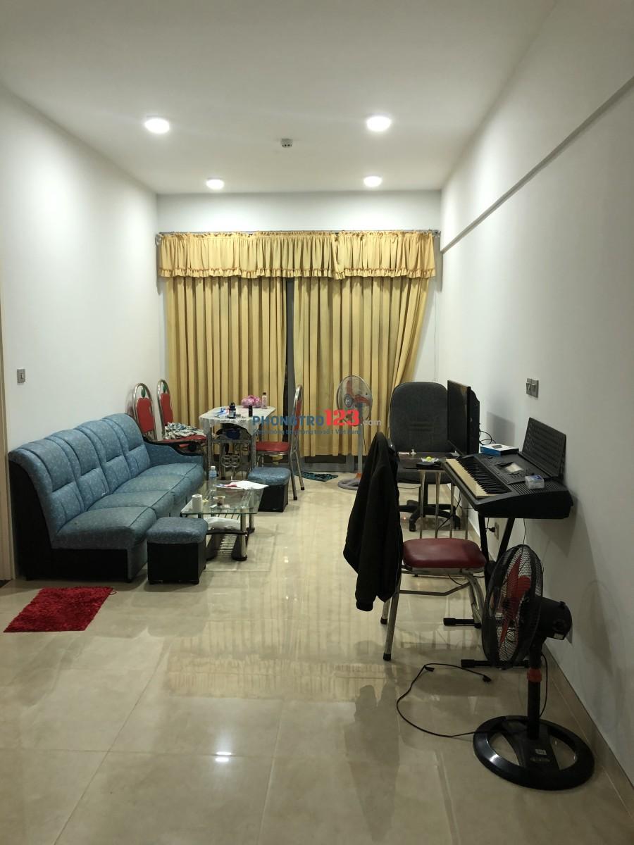 Cho thuê chung cư LuxGarden 2pn, 2wc
