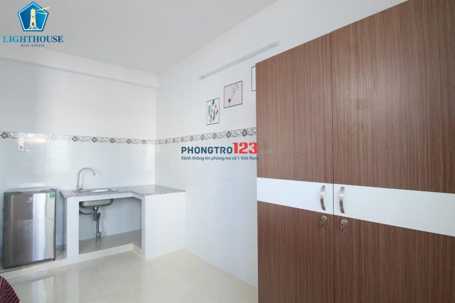 Phòng cao cấp gần Miếu Nổi, Đường Trần Bá Giao. Với đầy đủ tiện nghi. LH 0933396482