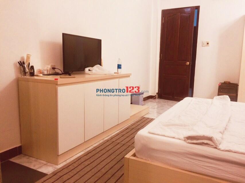 Cho thuê phòng trung tâm Quận 1 Full nội thất -giờ giấc tự do - đường Đặng Trần Côn