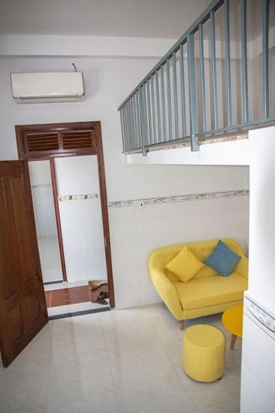 Cho thuê căn hộ có gác giá rẻ Quận Bình Tân, đường Lê Trọng Tấn, Giá chỉ từ 3tr9-5tr2/tháng