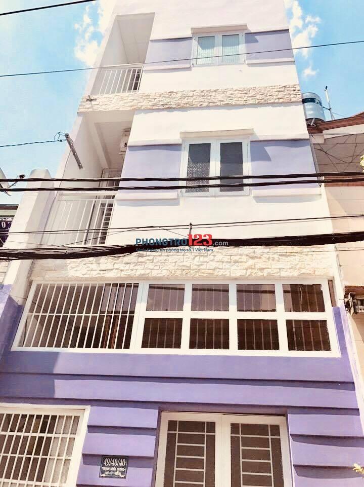 Cho thuê phòng trọ mới xây thoáng mát, sạch sẽ tại Trịnh Đình Trọng - Tân Phú