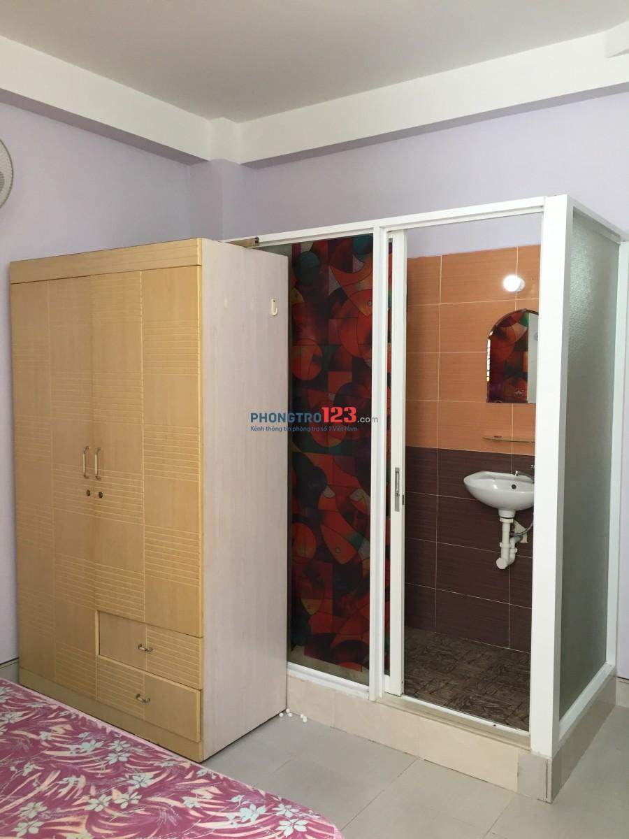 Phòng cho thuê sạch sẽ, khu vực an ninh, yên tĩnh tại số 63/39 Lê Văn Sỹ, P.13, Q.Phú Nhuận