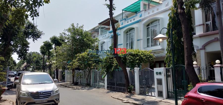 Cho thuê nhà đường số Tân Quy, Q.7. Dt 4*19m 2 lầu
