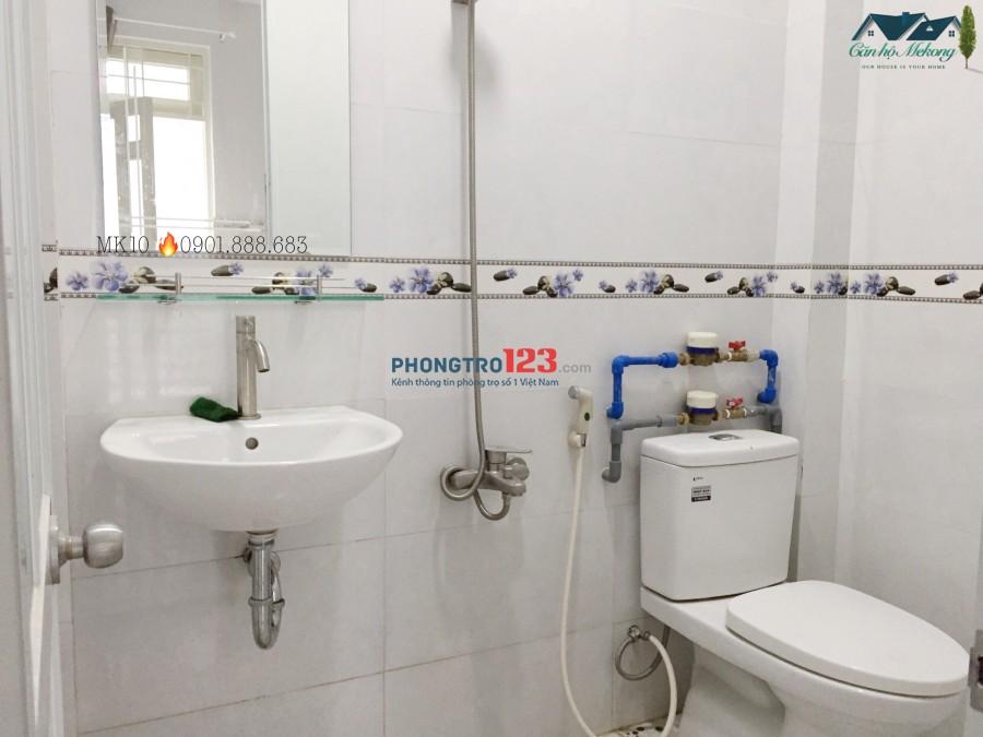 Cho thuê phòng full nội thất, cửa sổ lớn Q.Tân Bình