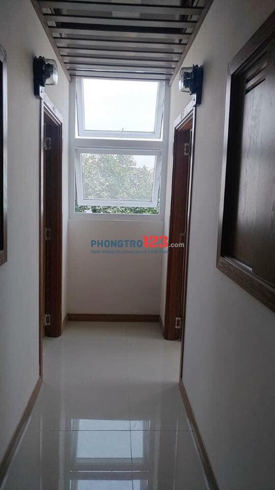 Cho thuê phòng trọ full nội thất, mới xây thoáng đẹp quận Tân Bình
