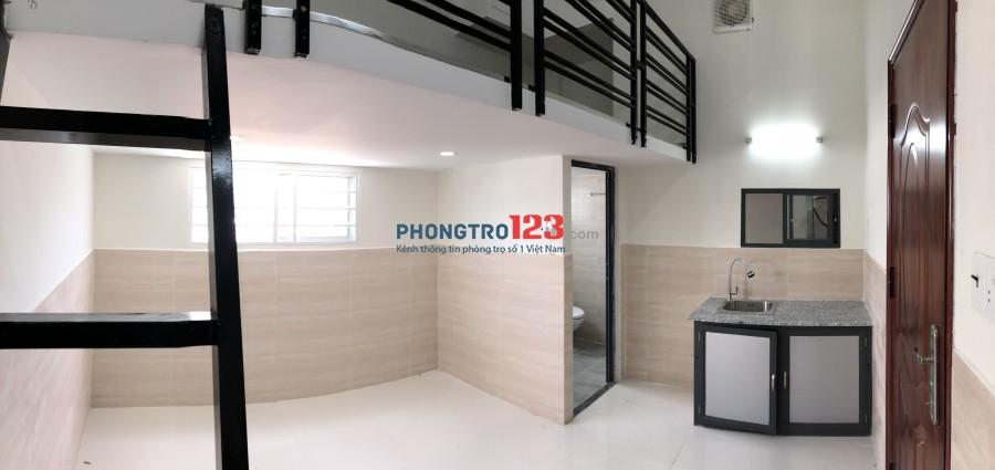 Phòng Q.7 có gác máy lạnh mới xây