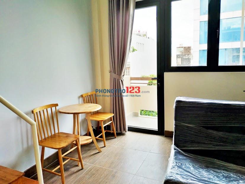 Căn hộ chung cư mini có gác, đầy đủ nội thất, mới xây gần đại học Hutech