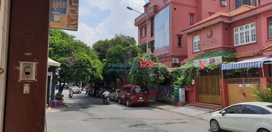 Cho thuê mặt bằng tầng trệt đường số 11, phường 2, Phú Nhuận (Ngay góc với Phan Xích Long)