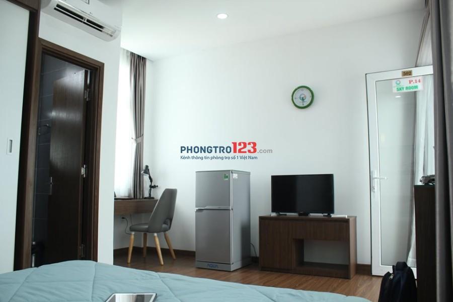 Căn hộ dịch vụ 25m2, đầy đủ tiện nghi gần công viên Gia Định, Phú Nhuận