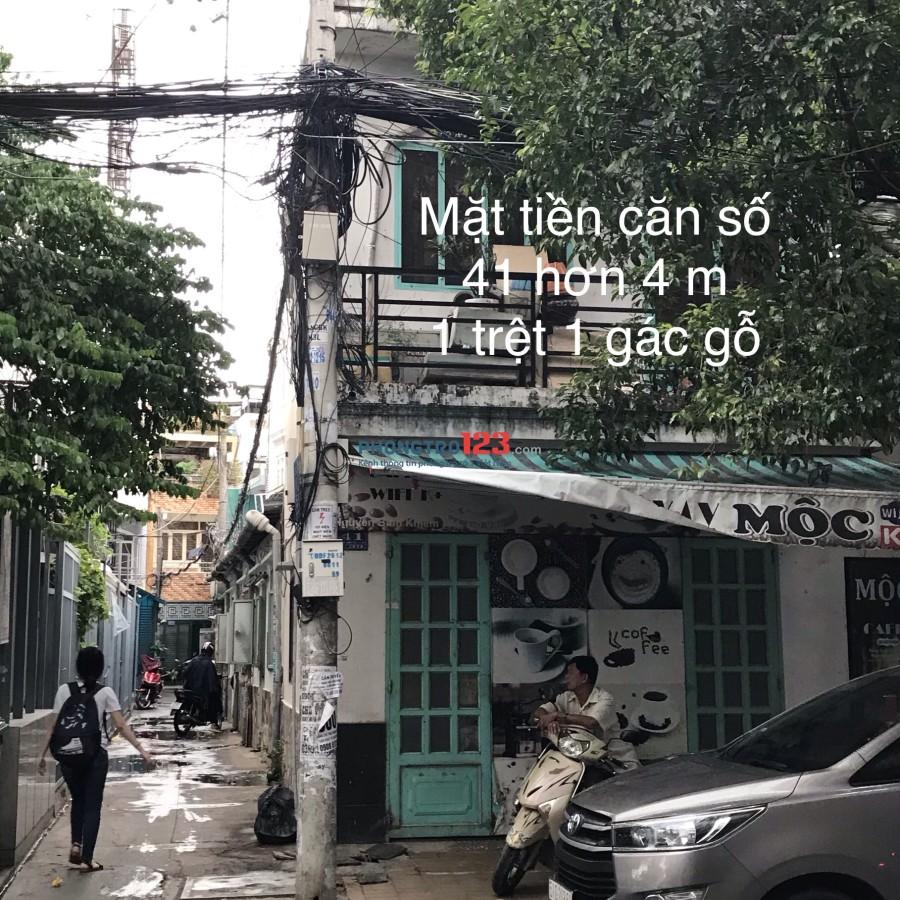 Cho thuê nguyên 2 căn hoặc từng nhà MT chính chủ số 41 - 43 Nguyễn Bỉnh Khiêm, P.1, Gò Vấp ngang 10m