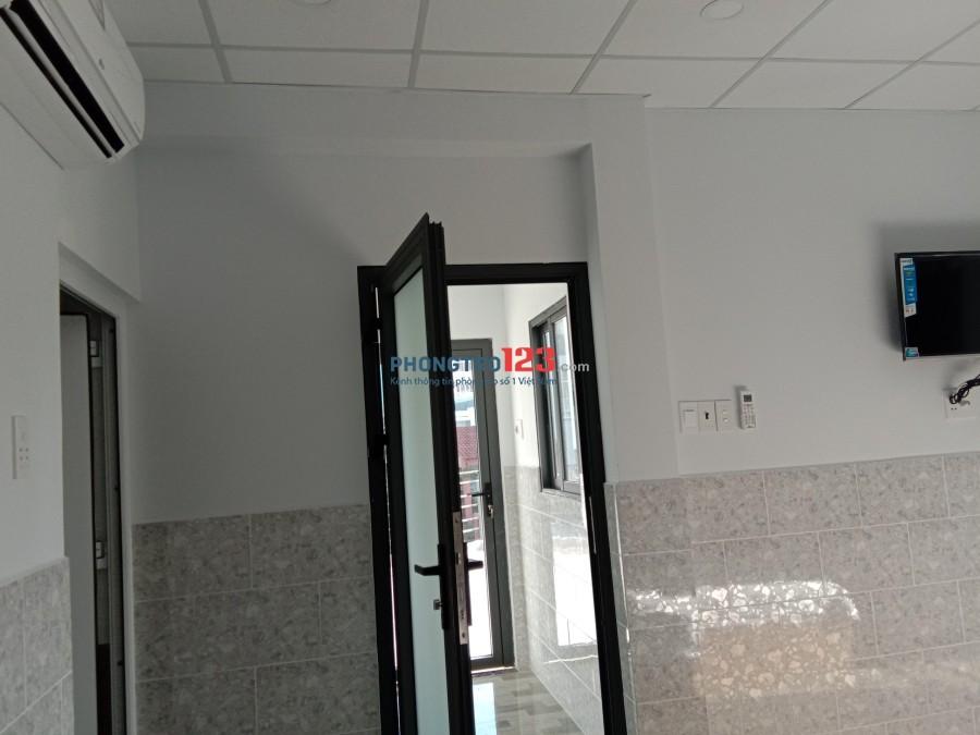 Phòng view căn góc mặt tiền số 9 đường số 1- chợ Tân Mỹ- Q.7- full nội thất- 5tr/tháng