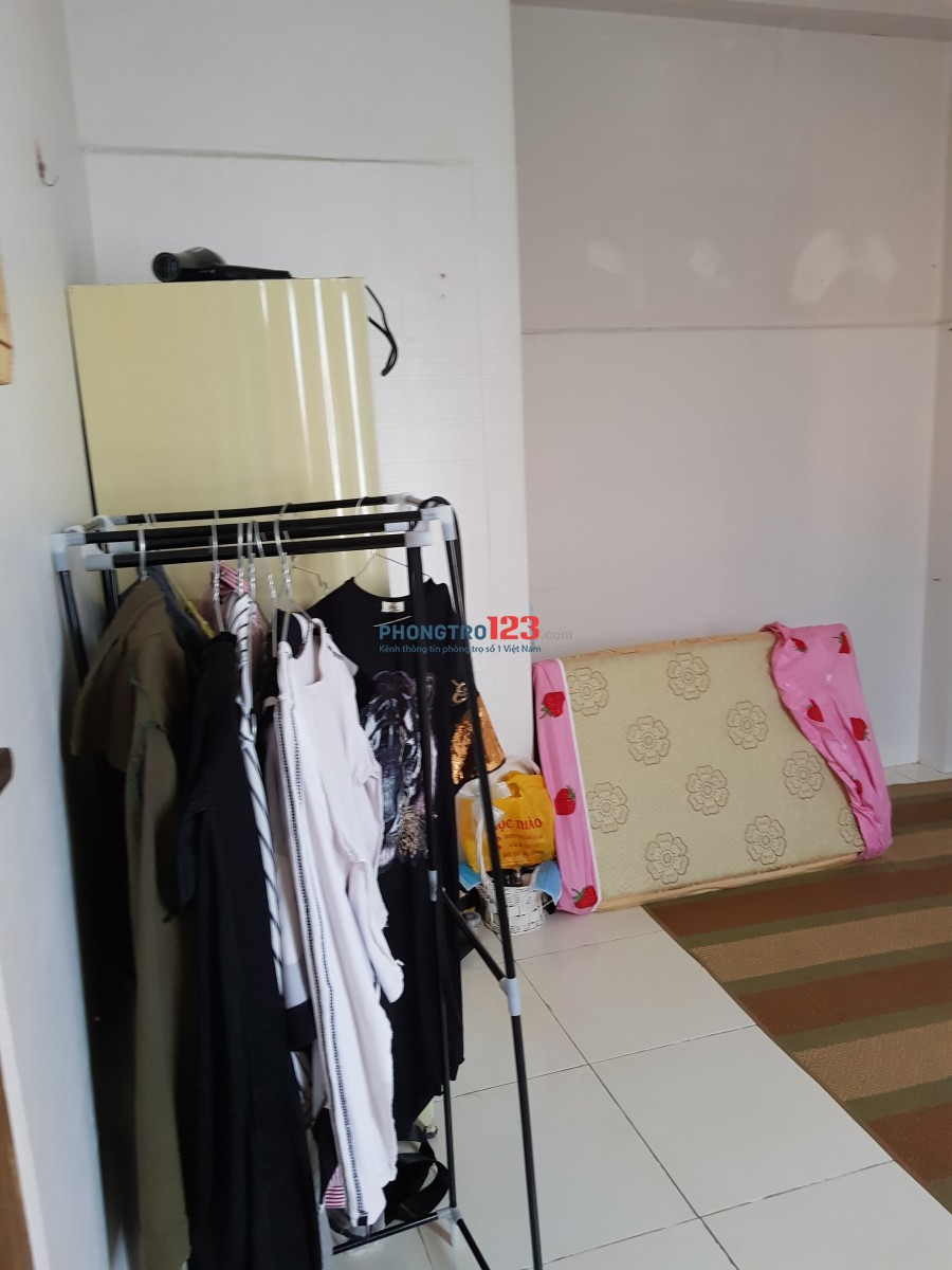 Cho thuê phòng (nữ), full nội thất, bộ nấu ăn, Q.3