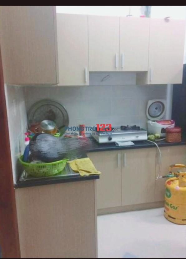 Cho thuê căn hộ chung cư Võ Đình 64m2 2pn 2wc P.Thới An, Q.12, giá 5,5tr/tháng. LH Ms Yến