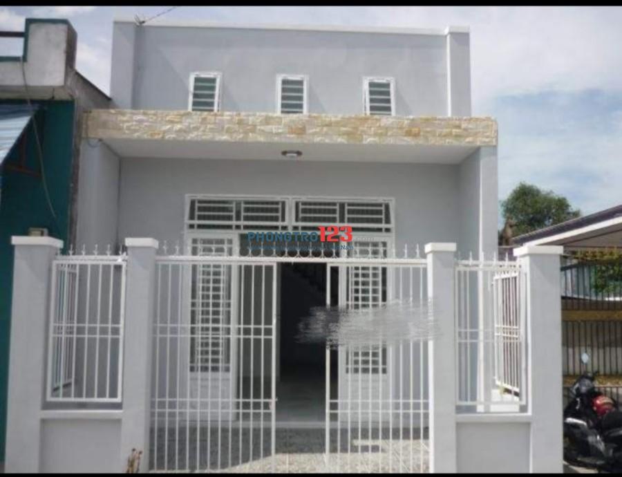 Cho thuê nhà mới hẻm 4m, có gác 3pn tại Phan Huy Ích, Q.Gò Vấp, giá 7tr/tháng. LH Mr Thu