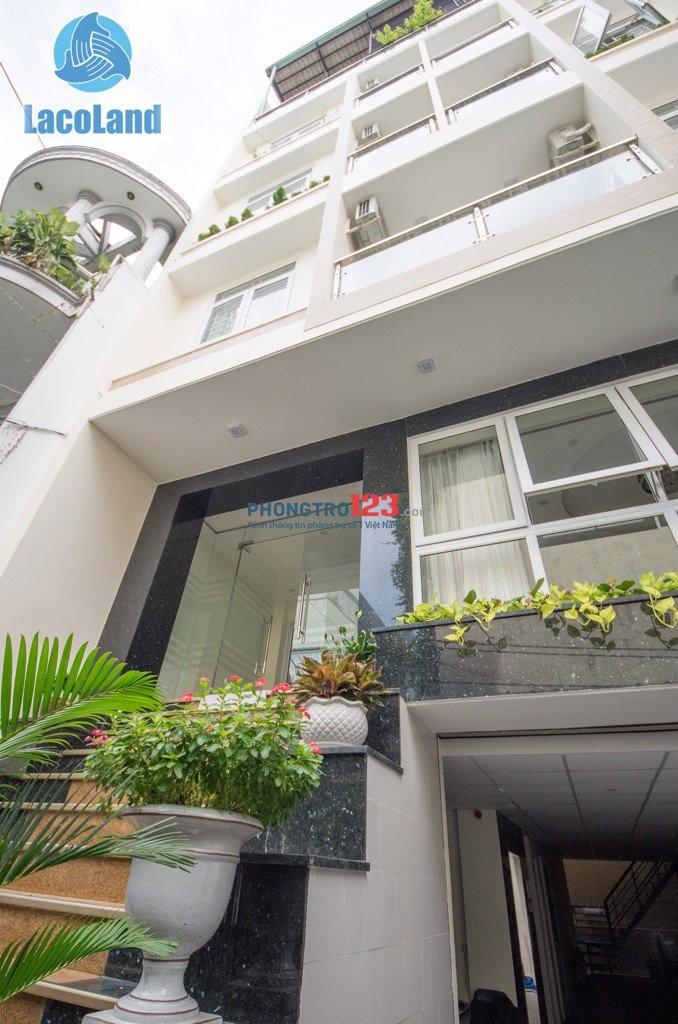 Cho thuê căn hộ cao cấp an ninh nghiêm ngặt quận 3 Lê Văn Sỹ ngay nhà thờ Bà Chuông, chợ Bùi Phát