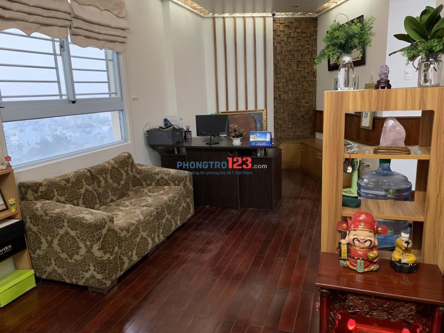 Cho nữ thuê 1 phòng trong chung cư Sacomreal 584