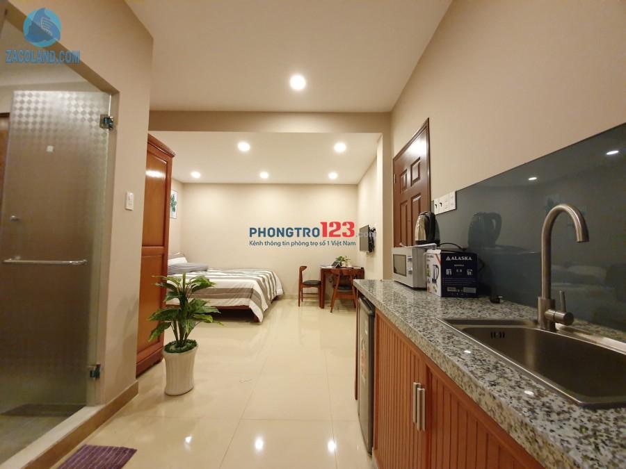 Cho thuê căn hộ cao cấp quận 10 tại Tô hiến Thành giao với Lý Thường Kiệt, chợ Nguyễn Tri Phương