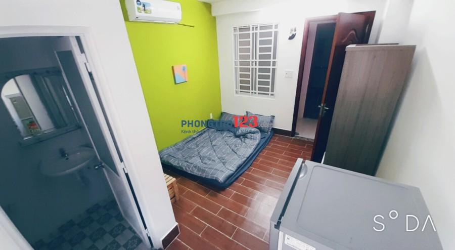 Phòng trọ có gác mới xây, full nội thất đường Ung Văn Khiêm, phường 25, quận Bình Thạnh